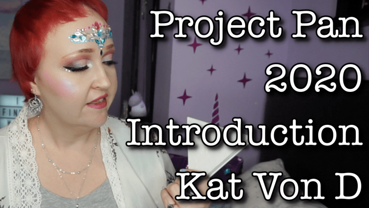 Project Pan 2020 Introduction – KVD Beauty Alchemist Palette