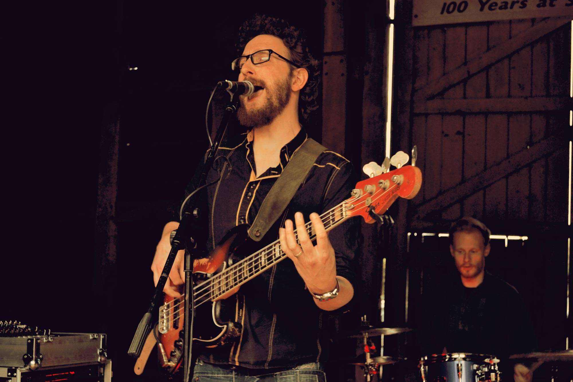 Charlie Evans bass vocals