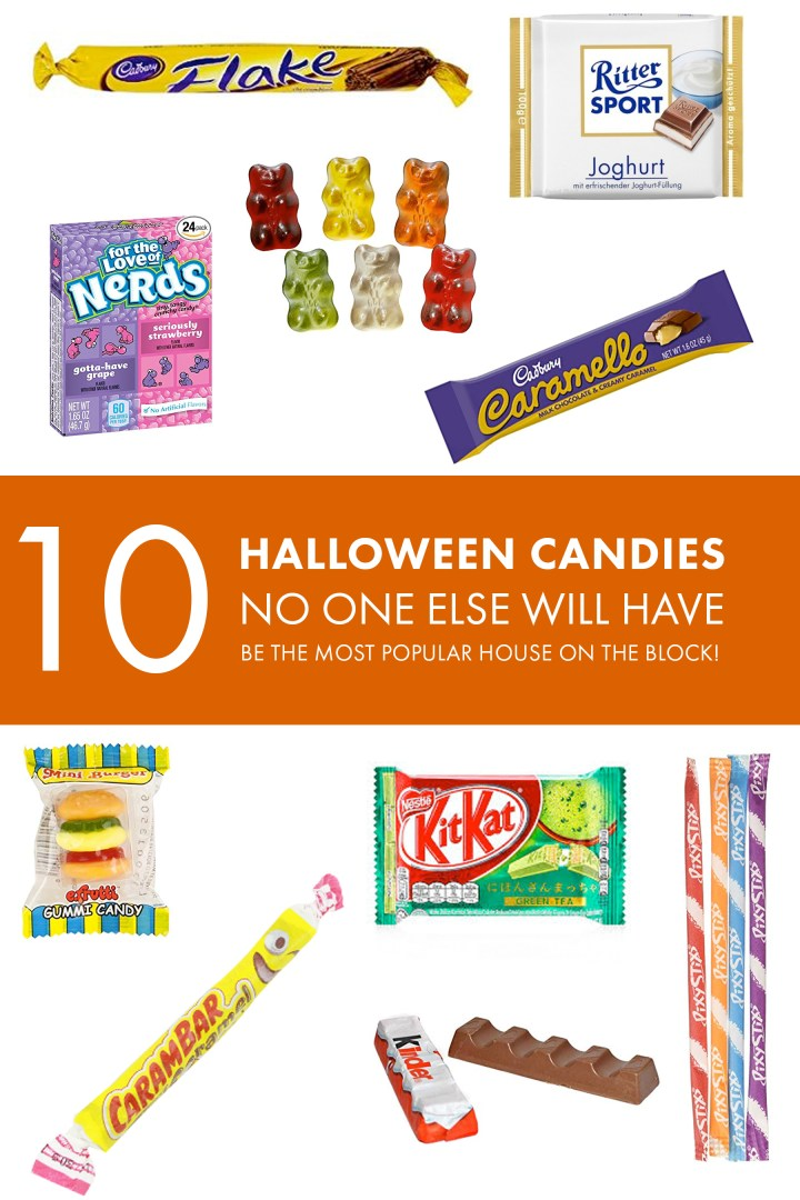 10 Halloween candies no one else will have