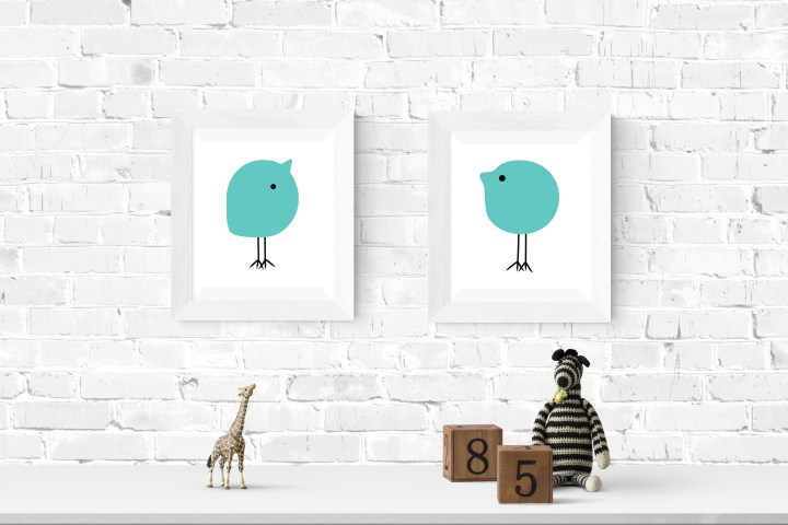 Printable Modern Nursery Art
