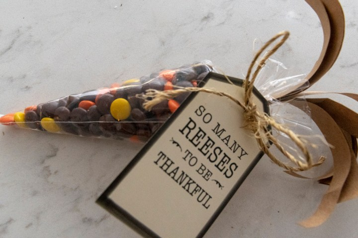 Free Printable Tags 'So Many Reeses To Be Thankful'