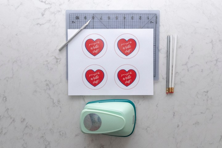 Give Pencils for Class Gifts on Valentine's Day