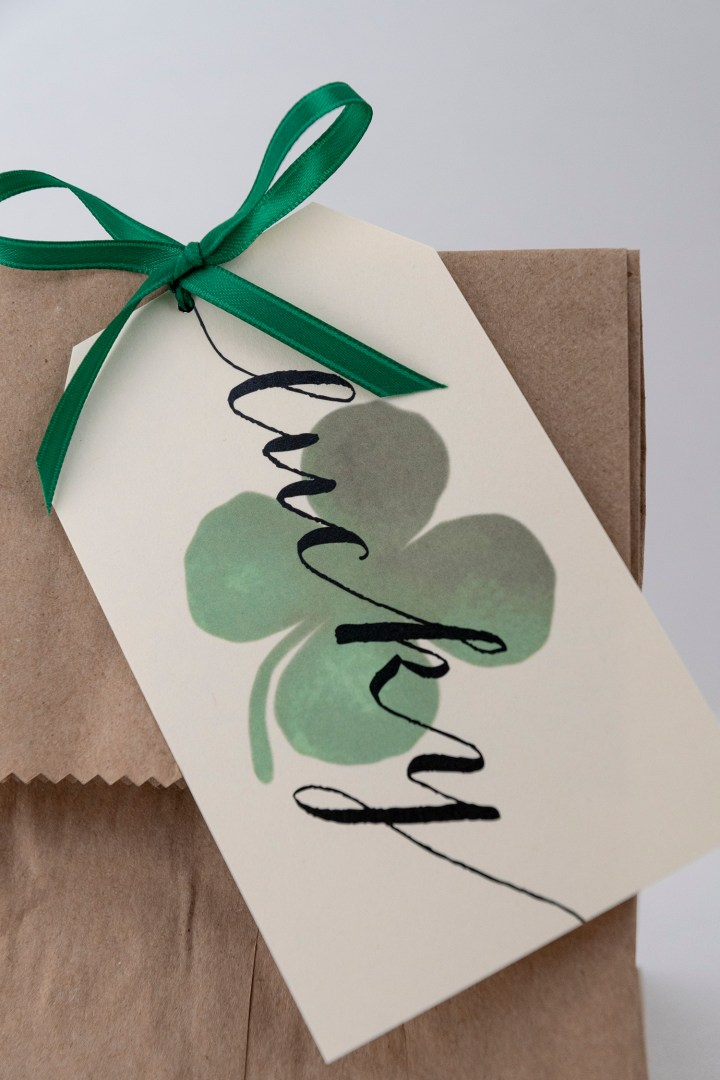 Free Printable Lucky Gift Tags