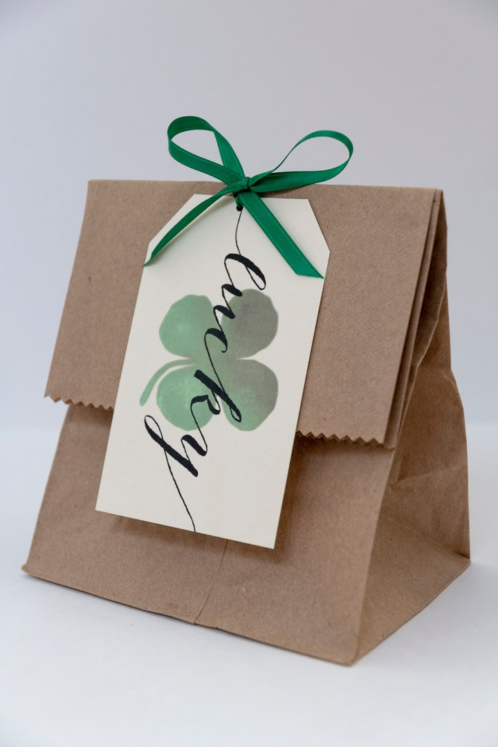 A Lucky St. Patrick's Day: Free Printable Gift Tags