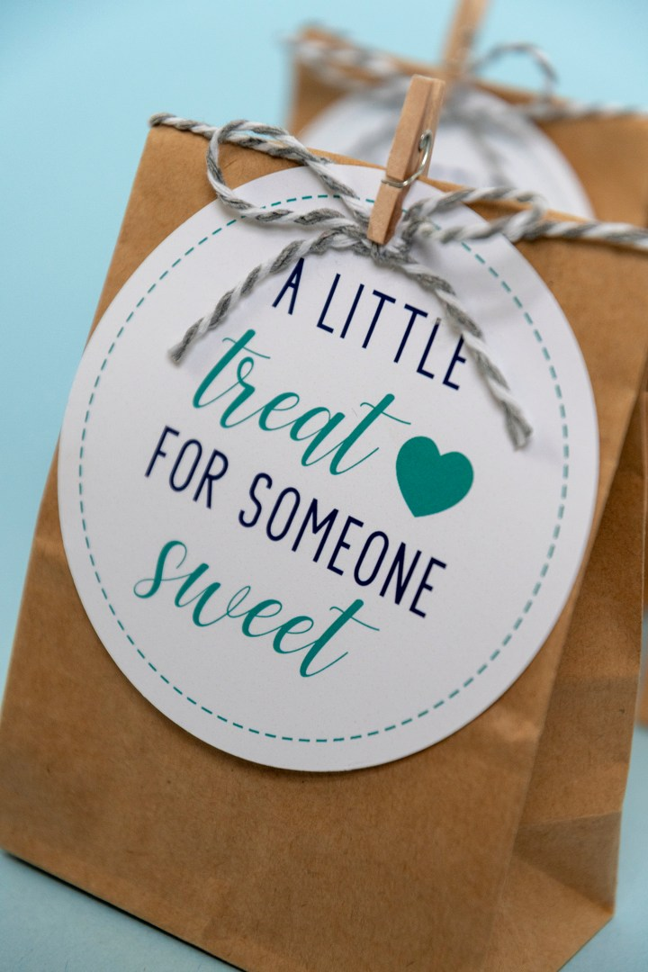 Printable Treat Gift Tags A Little Treat for Someone Sweet