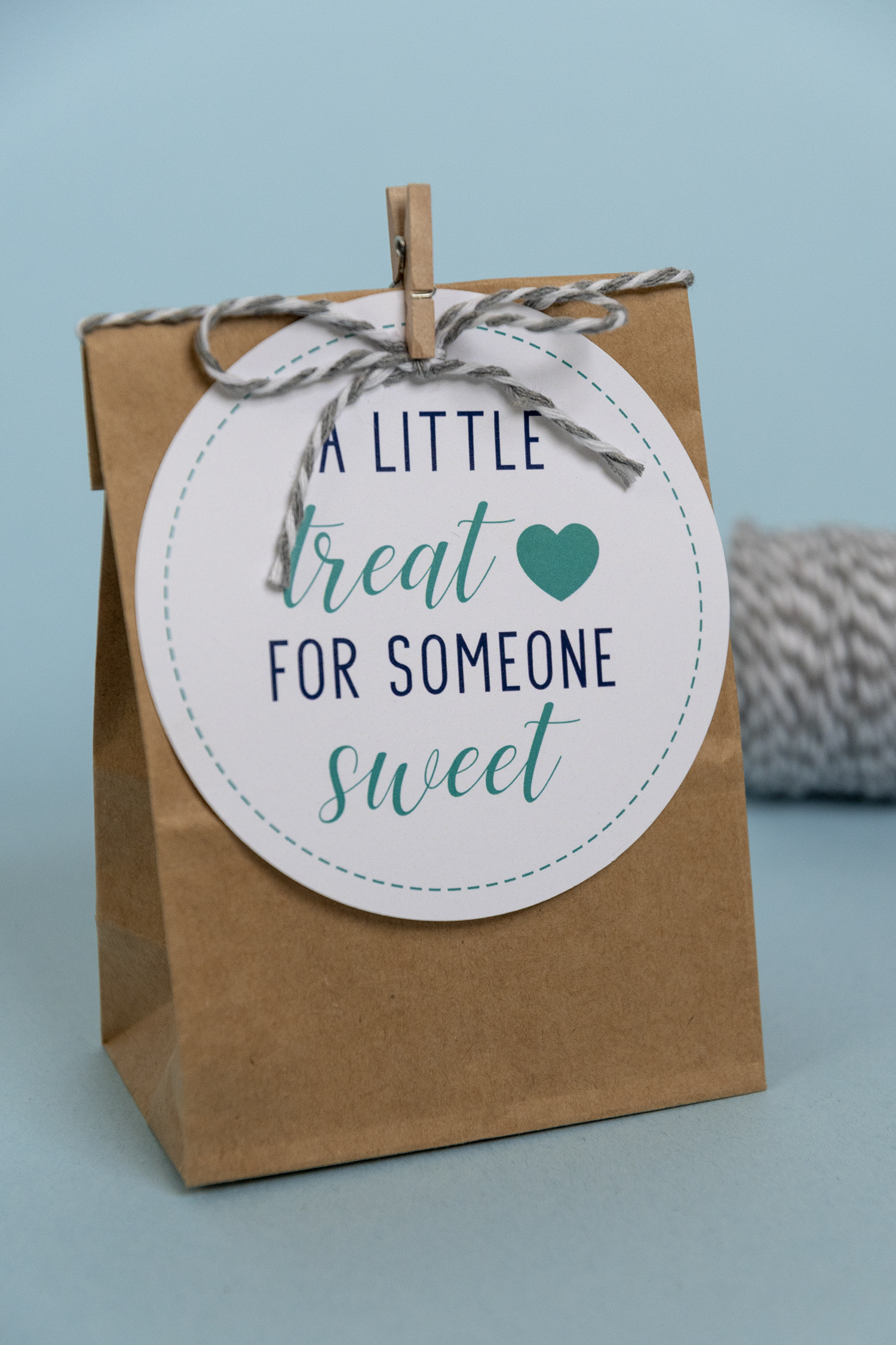 image relating to Printable Tag identified as Fresh new, Blue, A Minimal Handle for Anyone Adorable No cost Printable