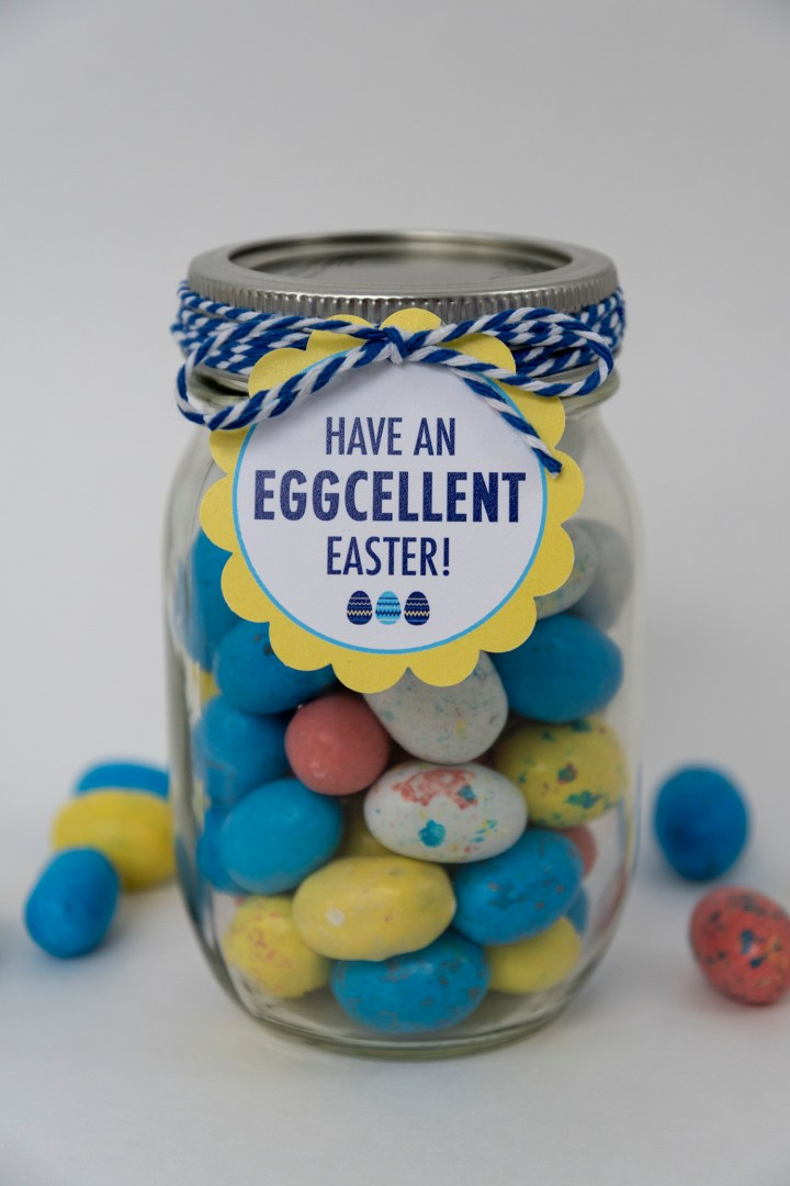 Free Printable Have an Eggcellent Easter Gift Tags
