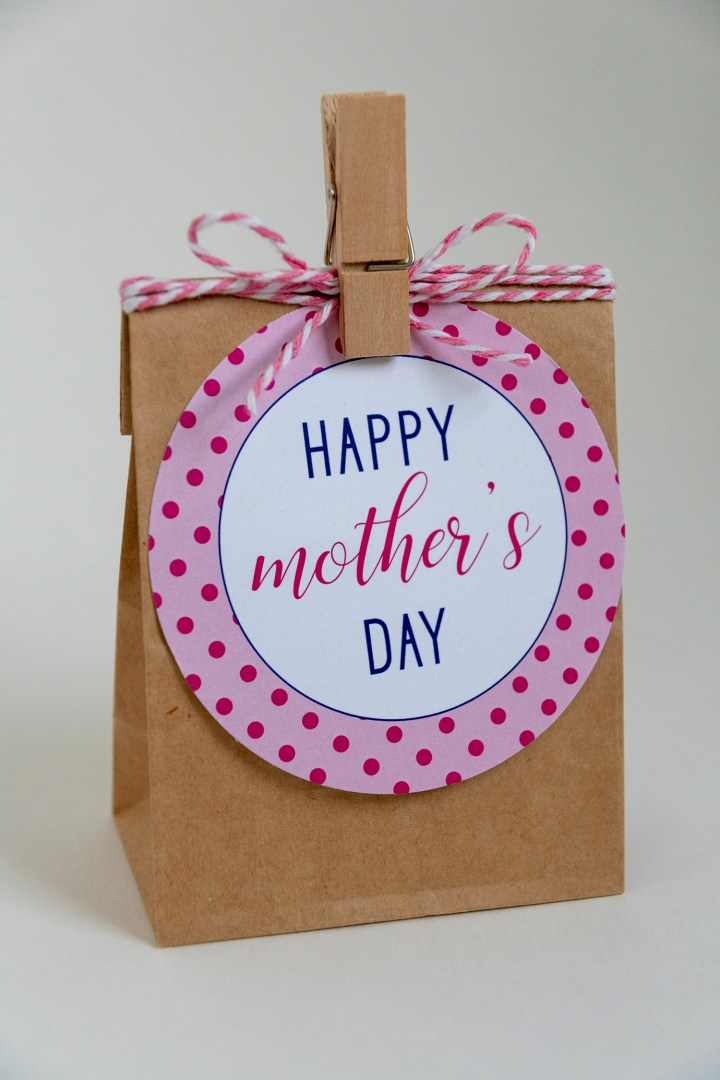 Happy Mother's Day Free Printable Gift Tags