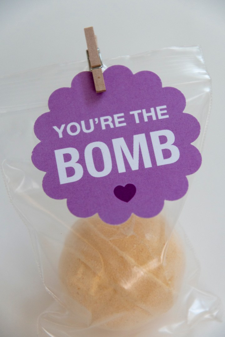 You're the Bomb Gift Tags