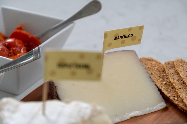 DIY Cheese Flags for Cheese Plate