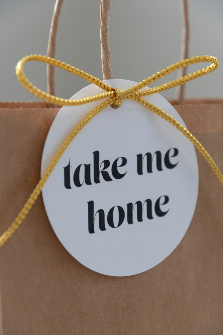 Take Me Home Gift Tags