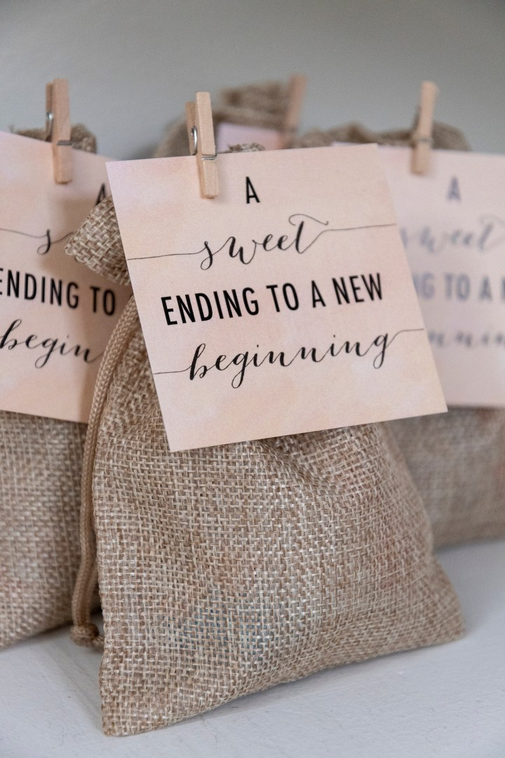 A Sweet Ending to a New Beginning Tags