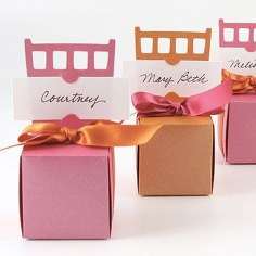 Chair Wedding Favor Boxes