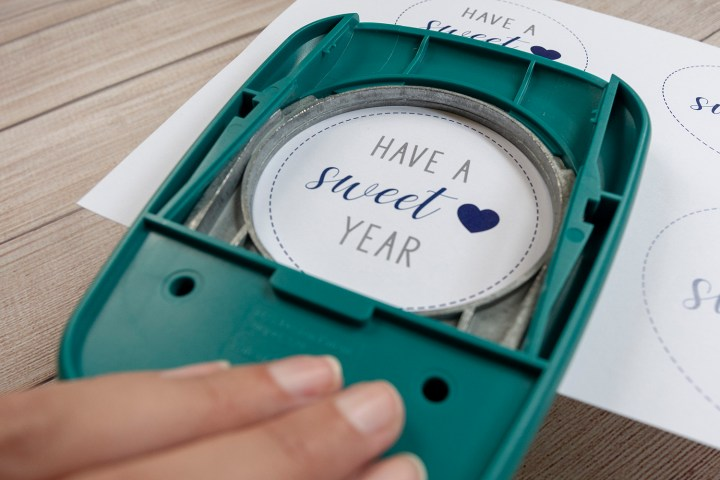 Have a Sweet Year Circle Printable Tags