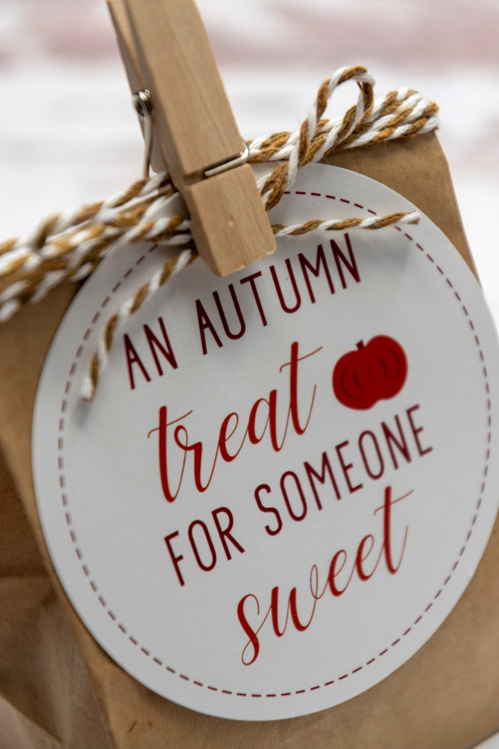 Fall Teacher Gift Tags Free Printable