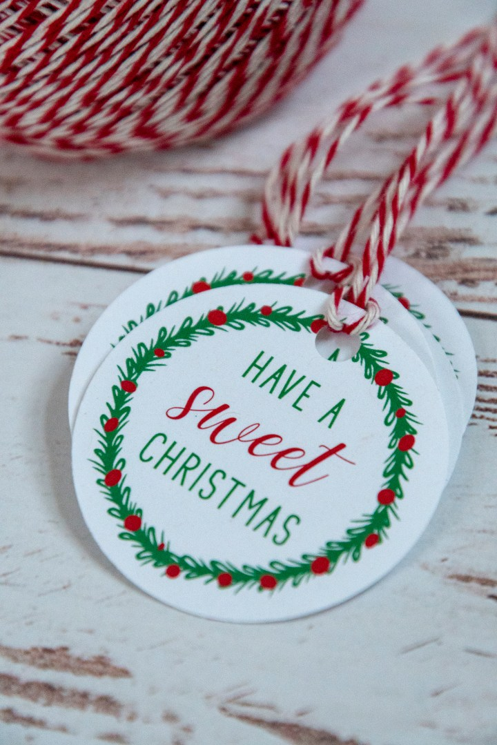 Have a Sweet Christmas Free Printable Gift Tags
