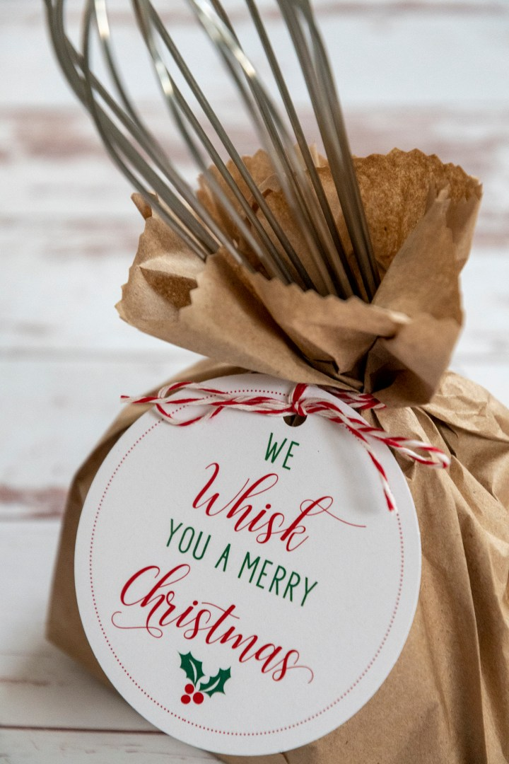 We Whisk You A Merry Christmas Free Printable Gift Tags