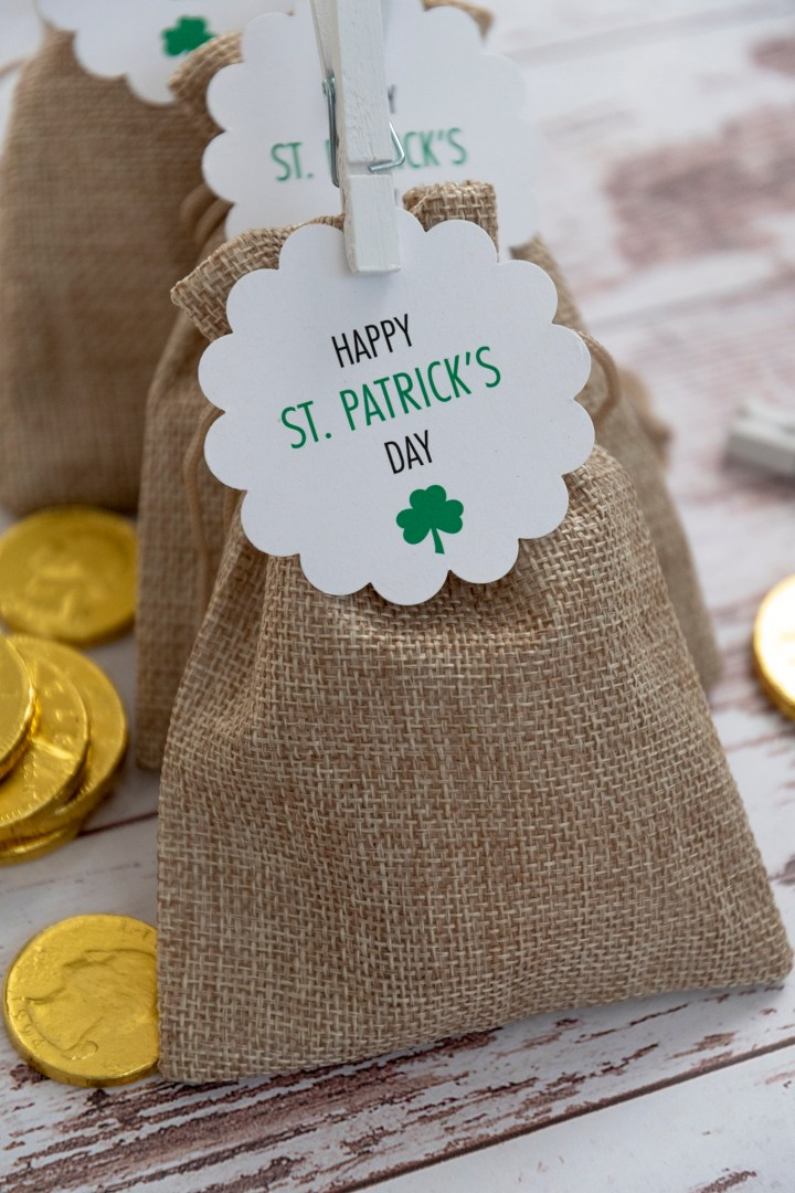 St. Patrick's Day Party Favor Idea