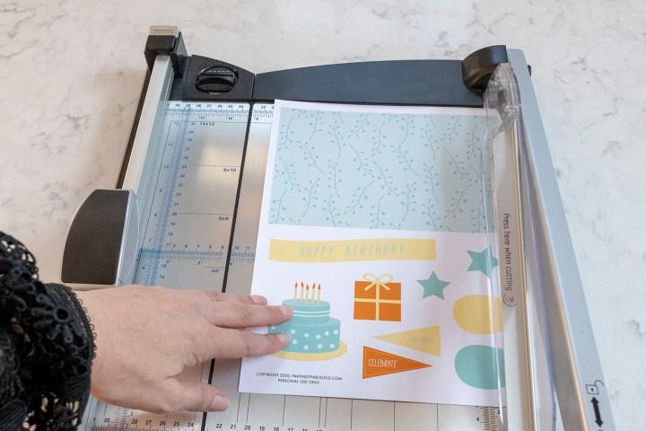 Free Printable Birthday Collage Sheet