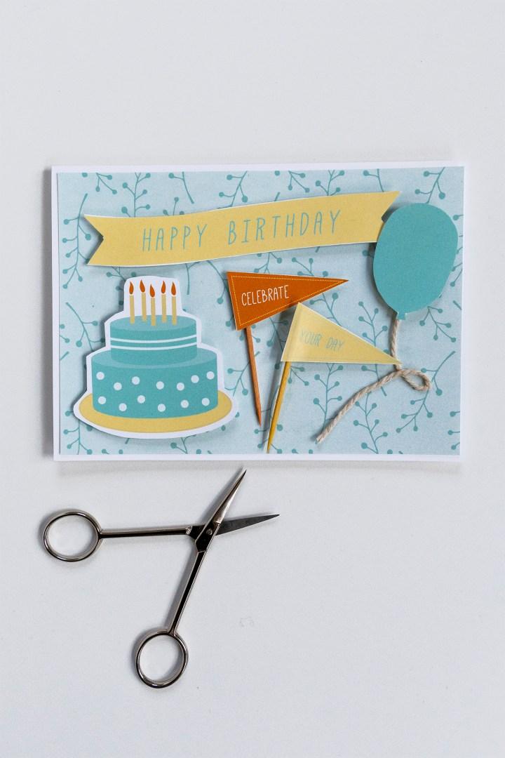 DIY Happy Birthday Card