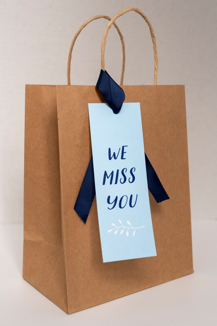 We Miss You Gift Tags