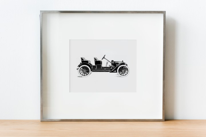 Antique Car Picture Free Printable Download