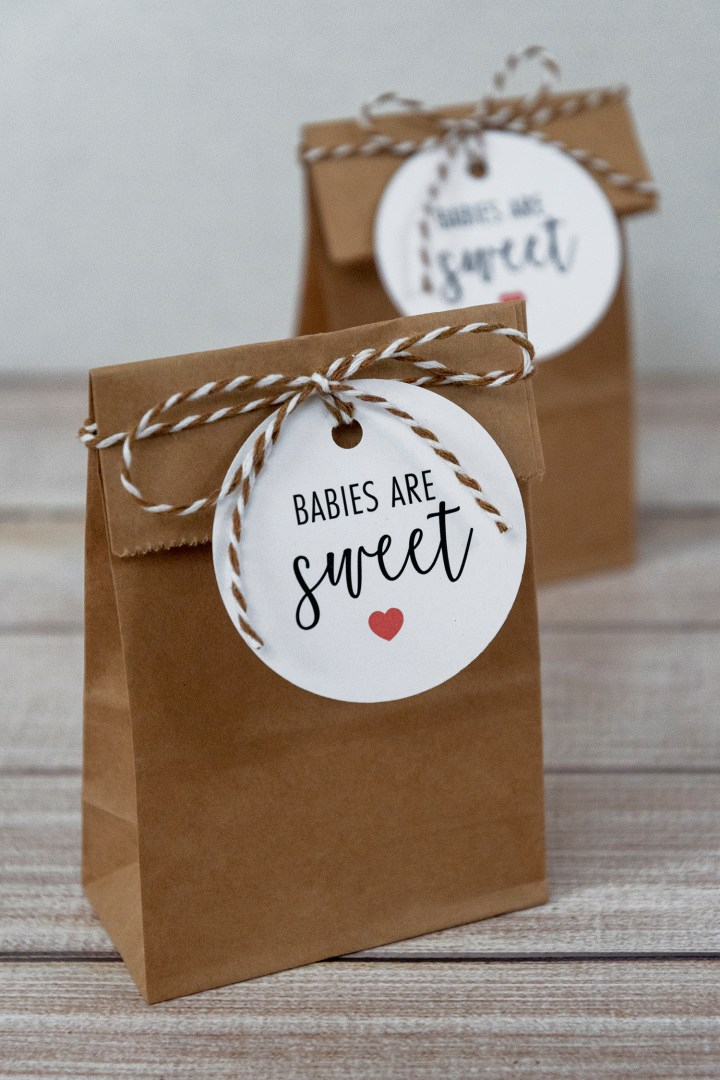 Baby Shower Favor Idea with Free Printable