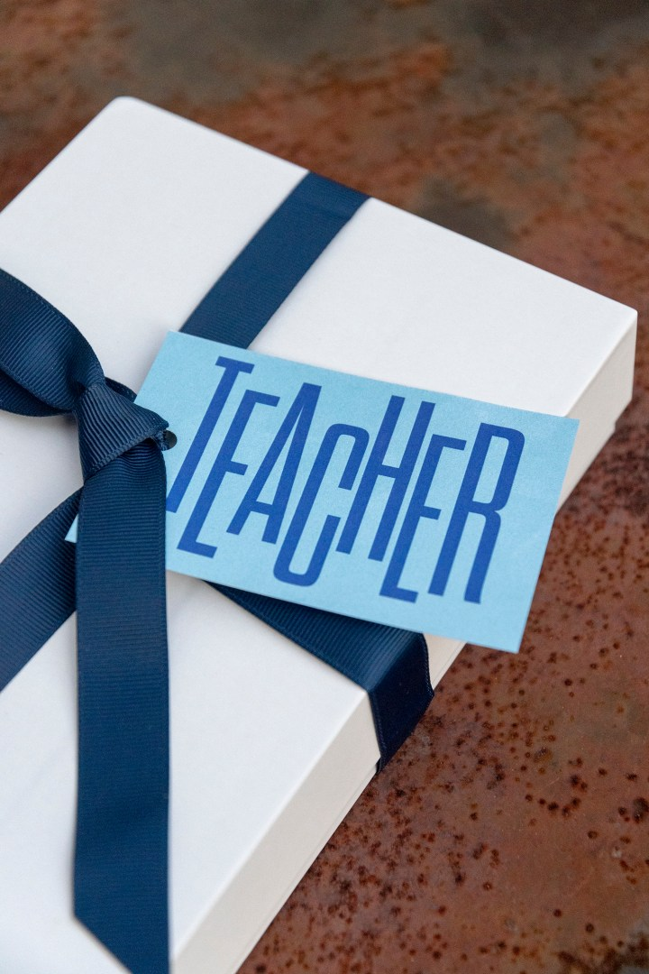 Teacher Free Printable Gift Tags
