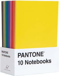 Color coded notebooks for back to school