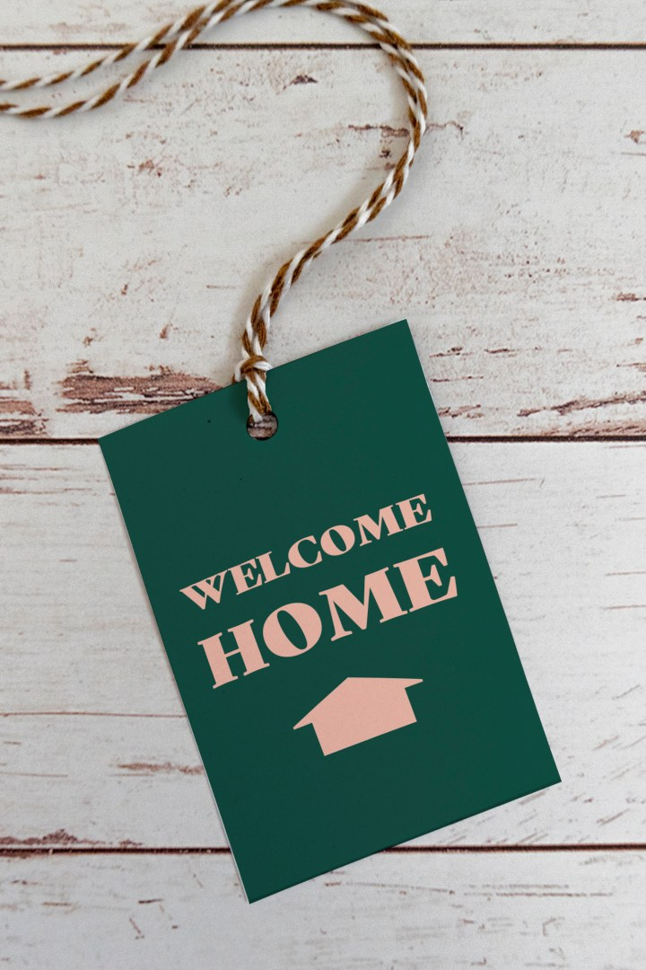 Free Printable Welcome Home Gift Tags