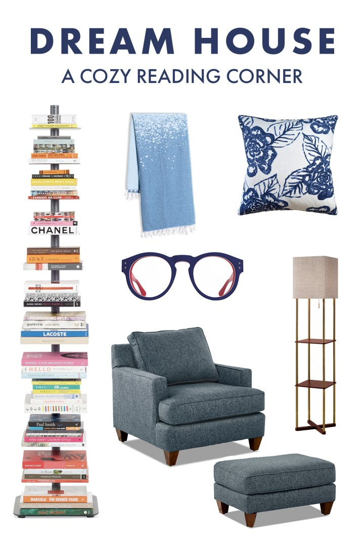 A Cozy Reading Corner Mood Board