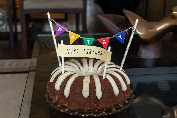 Personalized Birthday Cake Banner DIY for Bundt Cake