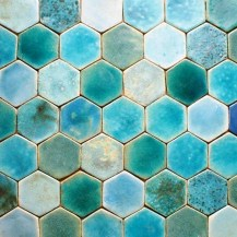 Turquoise Blue Tiles