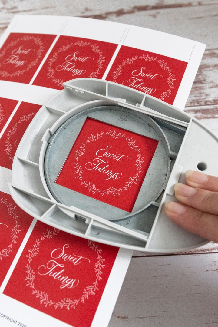 Christmas Candy Gift Tags