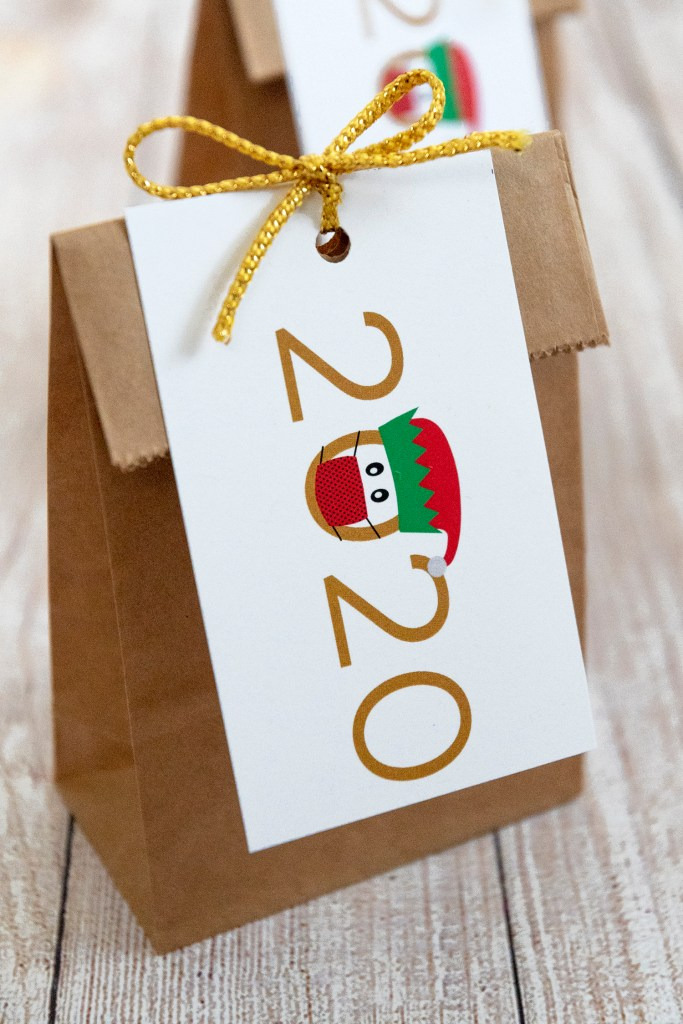 2020 Elf Christmas Gift Tags