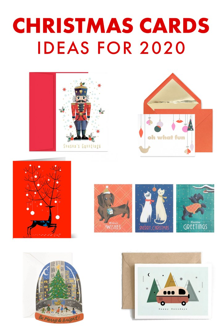 Designer Christmas Card Shopping Ideas