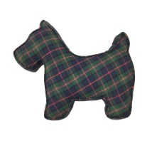 Scottie dog pillow
