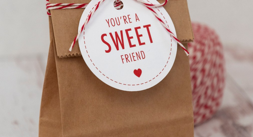 You Are a Sweet Friend Valentine Tags