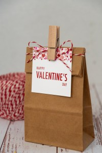 Heart Gift Tag Printables