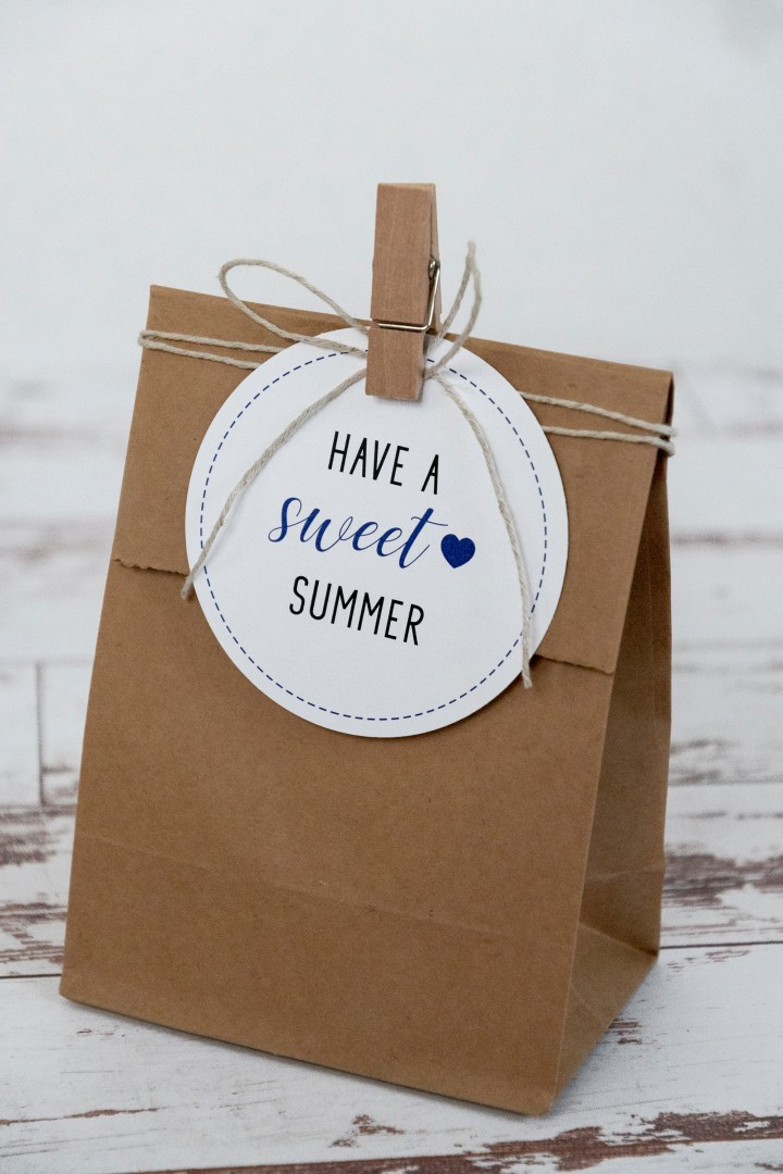 Have a Sweet Summer Free Printable Gift Tags