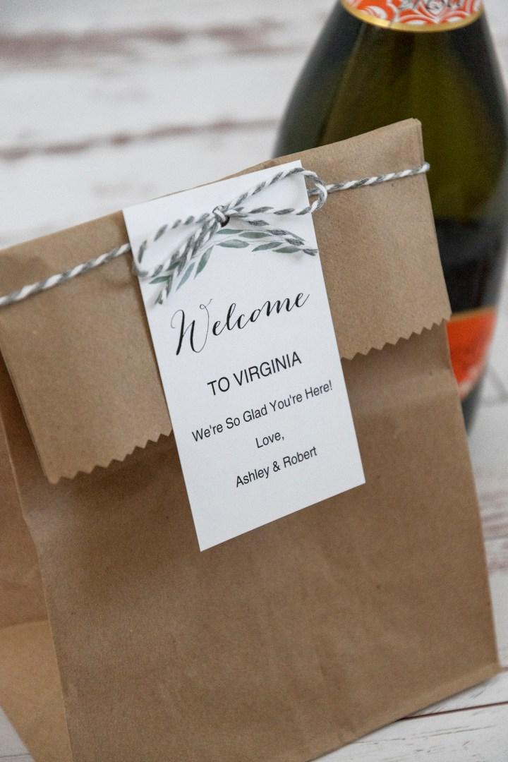 Free Printable Welcome Bag Tags