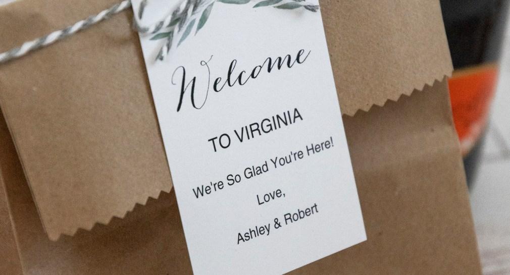 Wedding Welcome Bag Tags Free Printable