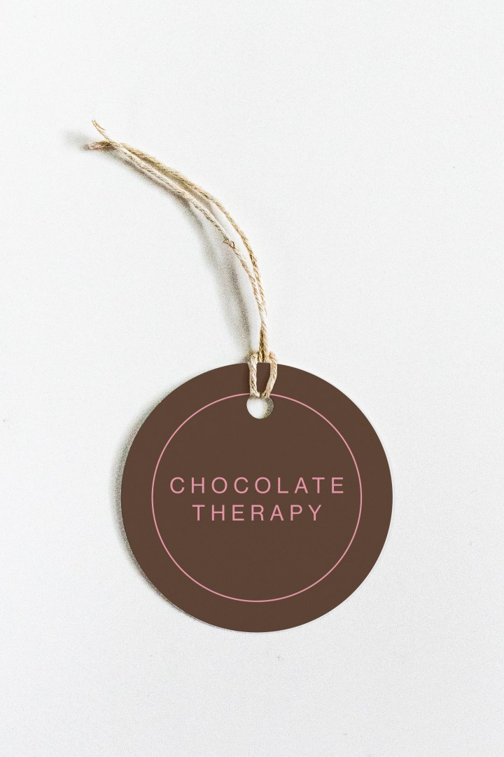 Chocolate Therapy Free Printable Gift Tags