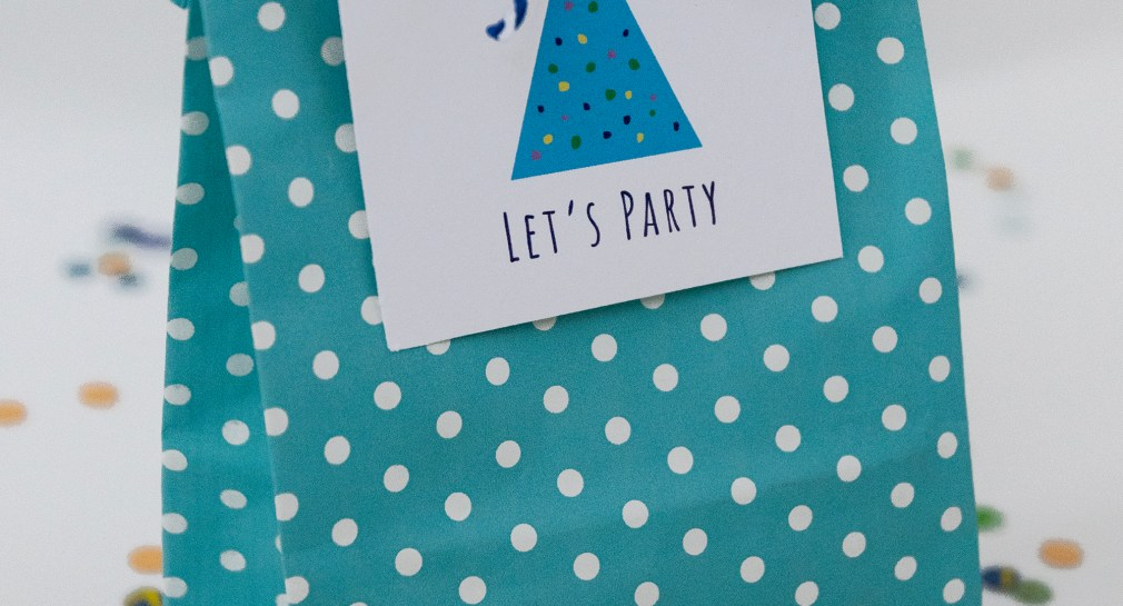 Let's Party Gift Tags Free Printable