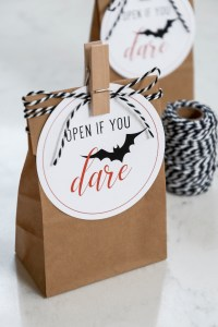Free Printable Halloween Candy Gift Tags