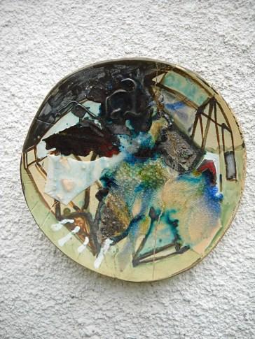 керамична чиния интерио