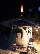 пещ на твърдо гориво, Аnagama kiln, ателие, керамика, грънчарство,ceramics, pottery