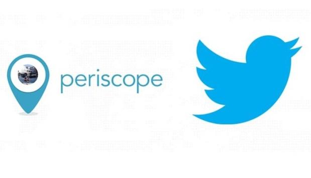 Twitter начал трансляции панорамного видео в Periscope
