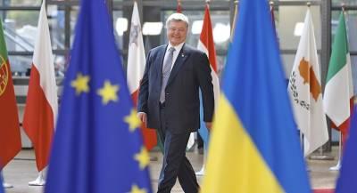 Порошенко взял курс на ЕС без советов Путина