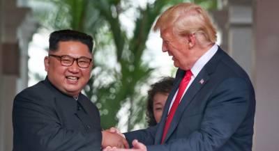 Трамп собрался второй раз встретиться сКим Чен Ыном